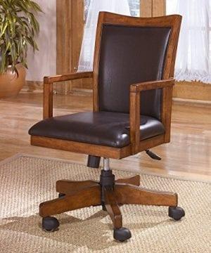 Ashley Furniture Signature Design Cross Island Swivel Desk Chair 0 0 300x360