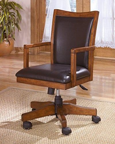 Ashley Furniture Signature Design Cross Island Swivel Desk Chair 0 0