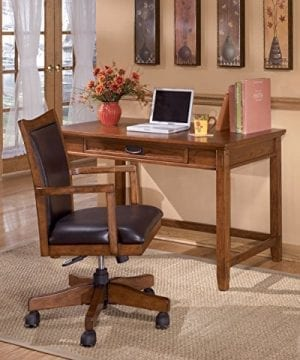 Ashley Furniture Signature Design Cross Island Swivel Desk Chair 0 1 300x360