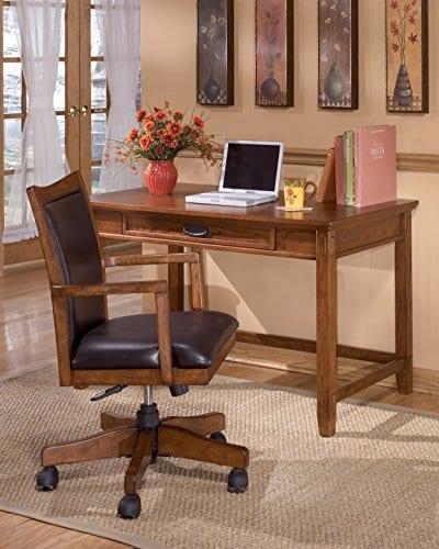 Ashley Furniture Signature Design Cross Island Swivel Desk Chair 0 1