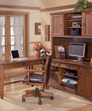 Ashley Furniture Signature Design Cross Island Swivel Desk Chair 0 2 300x360