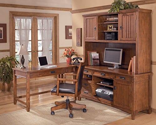 Ashley Furniture Signature Design Cross Island Swivel Desk Chair 0 2