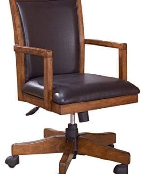 Ashley Furniture Signature Design Cross Island Swivel Desk Chair 0 300x360