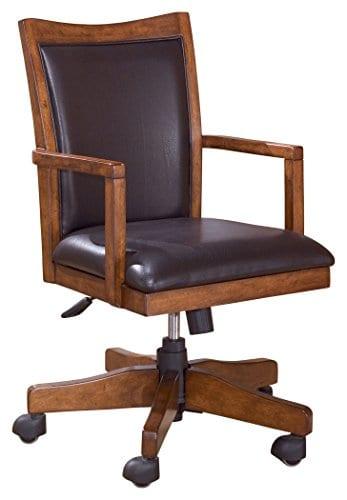 Ashley Furniture Signature Design Cross Island Swivel Desk Chair 0
