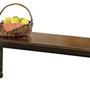 Ashley Furniture Signature Design Whitesburg Large Dining Bench Rectangular Vintage Casual 0 300x360