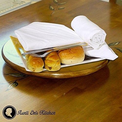 Aunti Ems Kitchen Vintage Flour Sack Kitchen Dish Towels Commercial Restaurant Grade Weave Cloth 100 Natural Cotton 27 X 27 Bakers Dozen Set Of 13 White 0 1