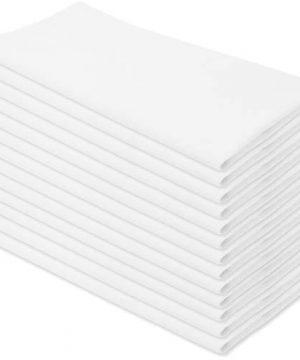 Aunti Ems Kitchen Vintage Flour Sack Kitchen Dish Towels Commercial Restaurant Grade Weave Cloth 100 Natural Cotton 27 X 27 Bakers Dozen Set Of 13 White 0 300x360