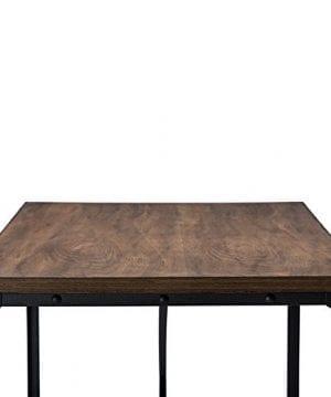 Baxton Studio Wholesale Interiors Greyson Vintage Industrial Home Office Wood Desk Antique Bronze 0 3 300x360