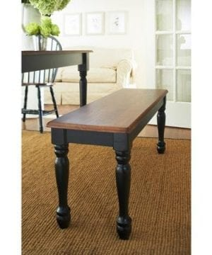 Better Homes And Gardens Autumn Lane Farmhouse Bench Black And Oak 0 1 300x360