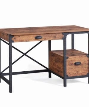 Better Homes And Gardens Rustic Country Desk Weathered Pine Finish 0 2 300x360