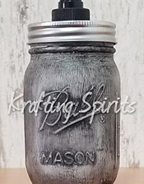 Black Ash Mason Jar Bathroom Set 0 2 281x360