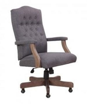 Boss Office Products B905DW SG Desk Chairs 0 300x360