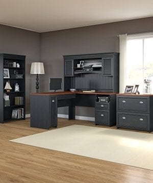 Bush Furniture Fairview L Shaped Desk With Hutch 0 0 300x360