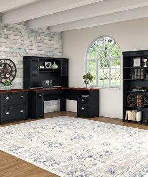 Bush Furniture Fairview L Shaped Desk With Hutch 0 1 300x360