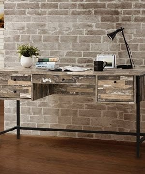 Coaster Furniture Salvaged Cabin Writing Desk With 4 Drawers 0 300x360