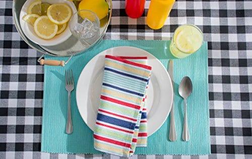 DII 100 Cotton Machine Washable Dinner Summer 0 2