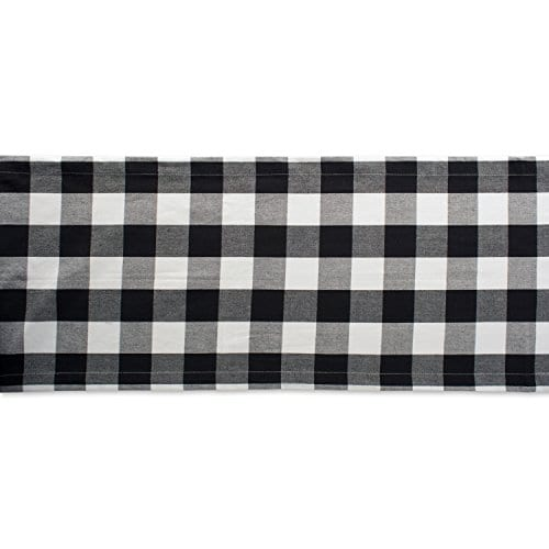 DII Cotton Buffalo Check Table Runner For Family Dinners Or Gatherings 0 1