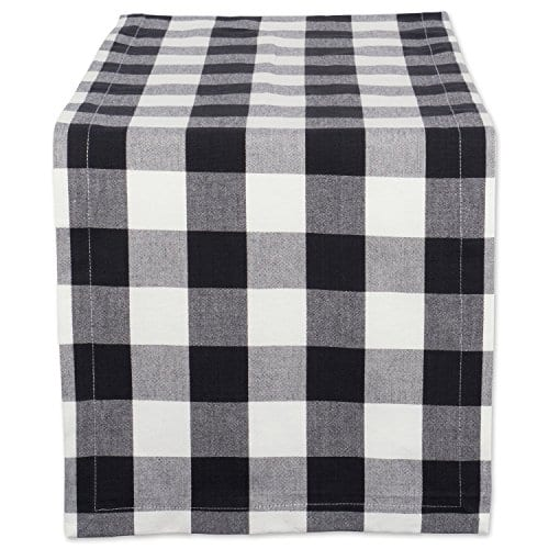 DII Cotton Buffalo Check Table Runner For Family Dinners Or Gatherings 0