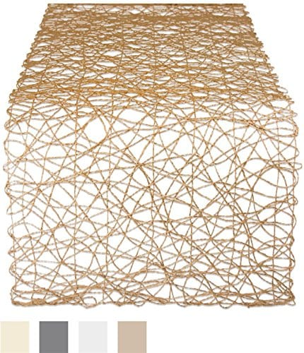 DII Woven Paper Decorative Table Tops For Holidays Occasions And Dcor 0