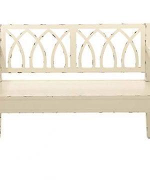 Deco 79 60155 48 X 36 Wood White Bench 0 300x360