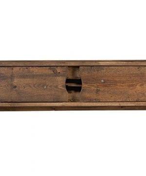 Flash Furniture HERCULES Series 40 X 12 Antique Rustic Solid Pine Folding Farm Bench 0 1 300x360