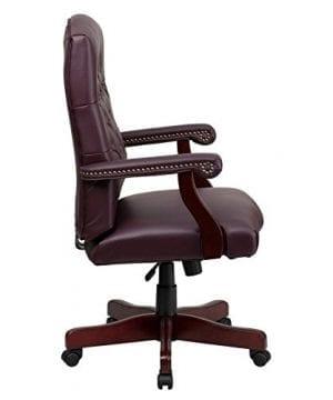 Flash Furniture Martha Washington Executive Swivel Chair With Arms 0 0 300x360