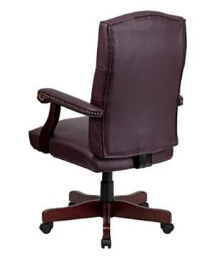 Flash Furniture Martha Washington Executive Swivel Chair With Arms 0 1 300x360