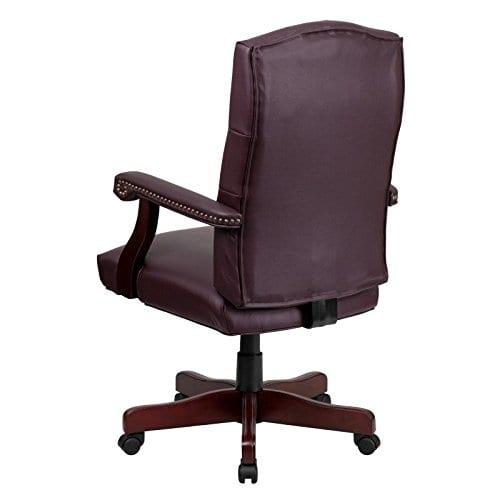 Flash Furniture Martha Washington Executive Swivel Chair With Arms 0 1