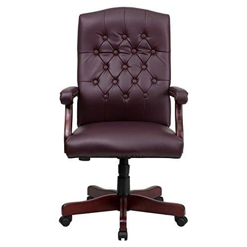 Flash Furniture Martha Washington Executive Swivel Chair With Arms 0 2