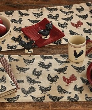 Hen Pecked Rooster Placemat Set Of 4 Rooster Table Mat 0 1 300x360