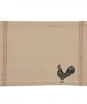 Hen Pecked Rooster Placemat Set Of 4 Rooster Table Mat 0 300x360
