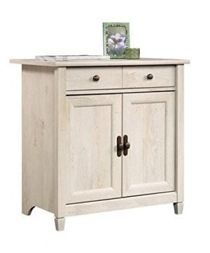 Home Square Rustic 2 Piece Executive Desk And Office Chest In Chalked Chestnut 0 0 300x360