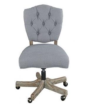 Linon Chair Grey 0 0 300x360