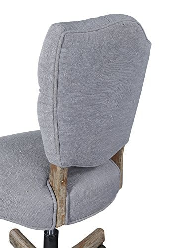 Linon Chair Grey 0 2