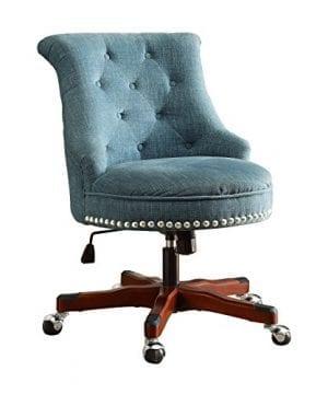 Linon Sinclair Executive Office Chair 0 1 300x360
