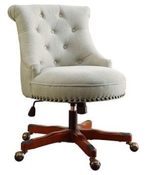 Linon Sinclair Executive Office Chair 0 2 300x360