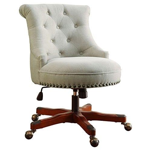 Linon Sinclair Executive Office Chair 0 2