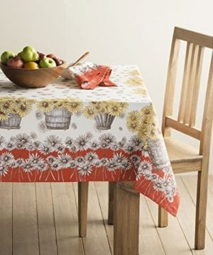 Maison D Hermine Bagatelle 100 Cotton Tablecloth 0 300x360