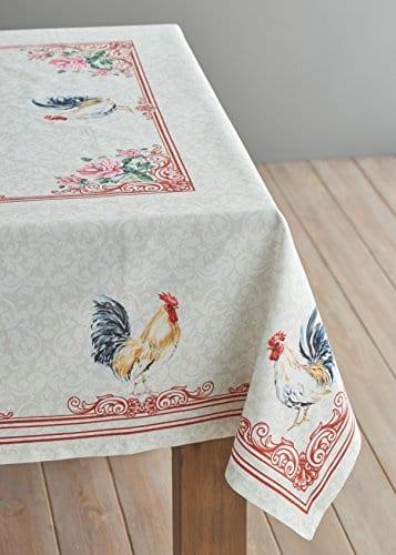 Maison D Hermine Campagne 100 Cotton Tablecloth 0 2
