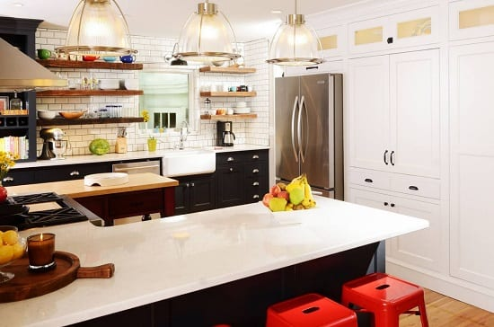 Modern Country Kitchen Remodel by Nathan Taylor for Obelisk Home