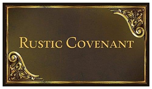 13 inches x 19 inches Antique Black//Natural Tan Plaid Rustic Covenant Woven Cotton Plaid Farmhouse/Placemats Set of 4