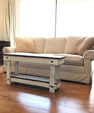Rustic Handcrafted Reclaimed Bench Easy Self Assembly 36x12x18 0 0 300x360