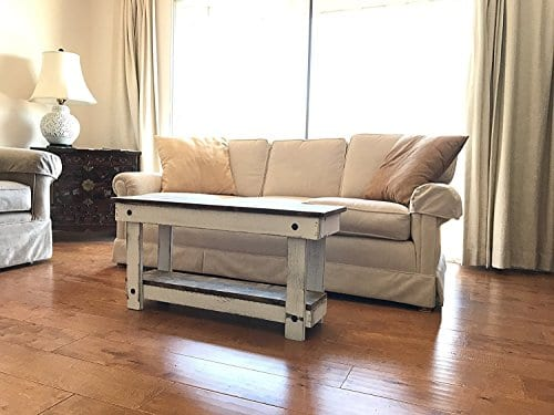 Rustic Handcrafted Reclaimed Bench Easy Self Assembly 36x12x18 0 0