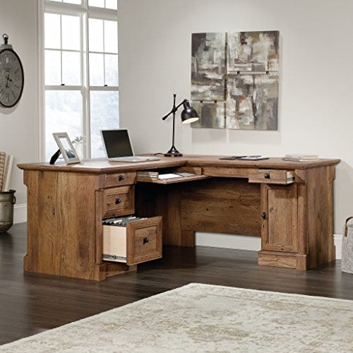 Sauder 420606 Palladia L Vo A2 Computer Desk Vintage Oak 0 0