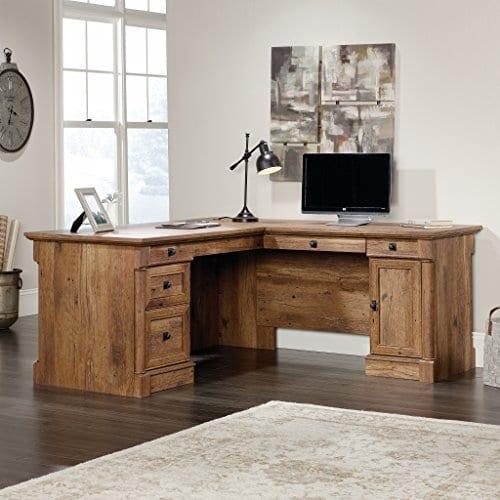 Sauder 420606 Palladia L Vo A2 Computer Desk Vintage Oak 0 2