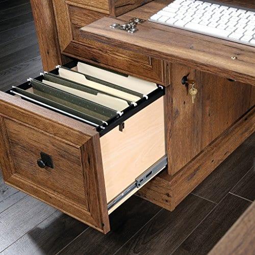Sauder 420606 Palladia L Vo A2 Computer Desk Vintage Oak 0 3