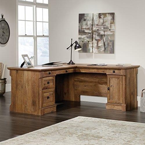 Sauder 420606 Palladia L Vo A2 Computer Desk Vintage Oak 0