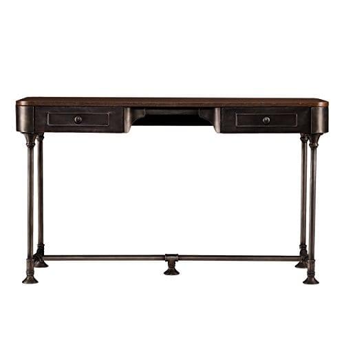Dontos Industrial Kitchen Cart Southern Enterprises: Southern Enterprises Edison Industrial 2 Drawer Desk 50