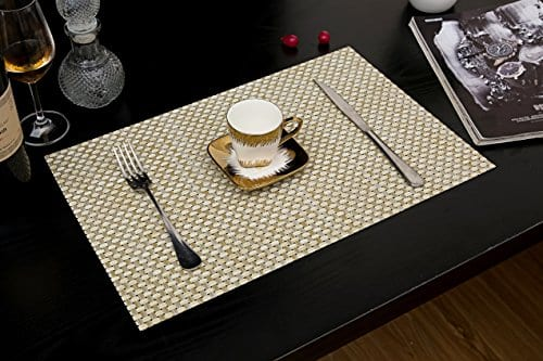Tennove Placemats Set Of 6 Washable
