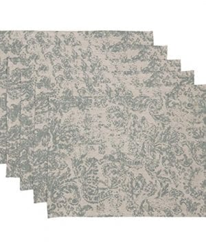 VHC Brands Harvest Thanksgiving Farmhouse Tabletop Kitchen Rebecca Green Placemat Set Of 6 0 300x360